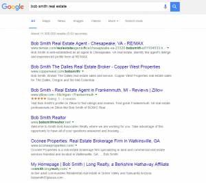 Realtor Search Engine Results