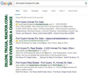 Local Realtor Search Results